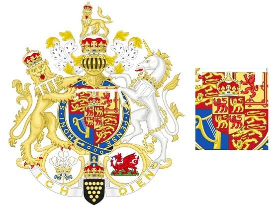 チャールズ王太子の紋章