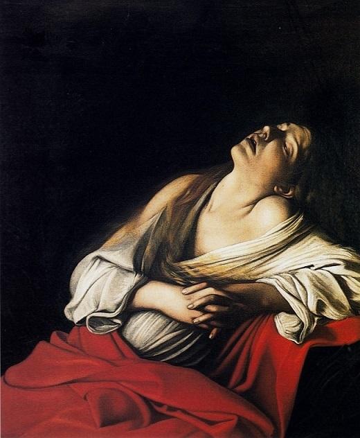 ミケランジェロ・メリージ・ダ・カラヴァッジオ『法悦のマグダラのマリア』