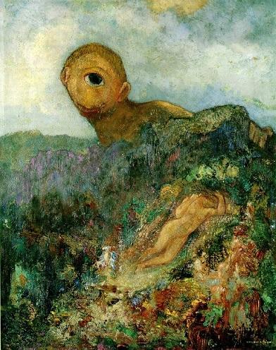 オディロン・ルドン『キュクロープス』1914年