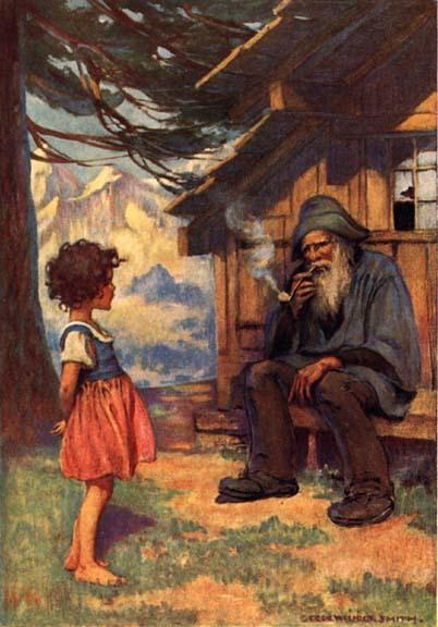 ジェシー・ウィルコックス・スミス 『ハイジとおじいさん』