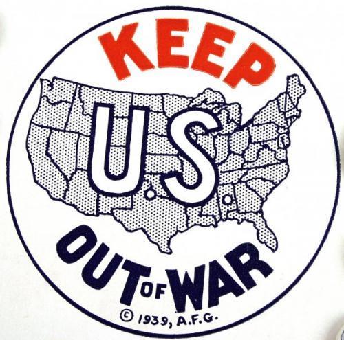 アメリカの伝統 「孤立主義」 ~ 戦争に引き込まれたくなかったアメリカ国民