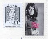 切手  フランス(サンキュー)