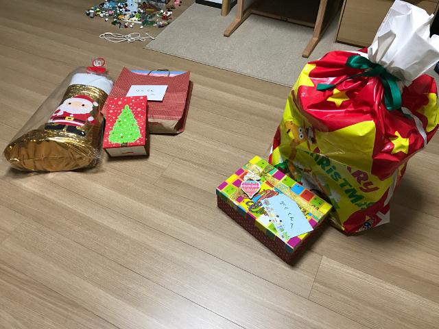 2016年のサンタさんの贈り物
