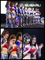 東京オートサロン2017 スバル STI コンパニオン