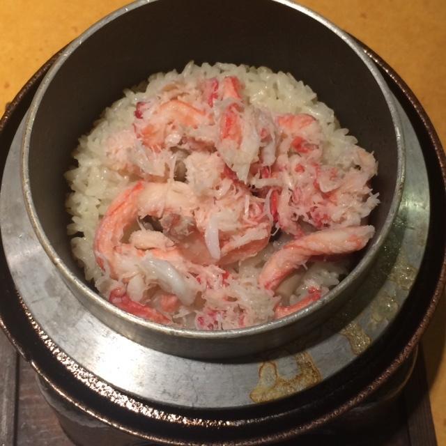 蟹ランチ 3