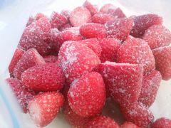 【写真】ポレポレ苺の凍りいちご