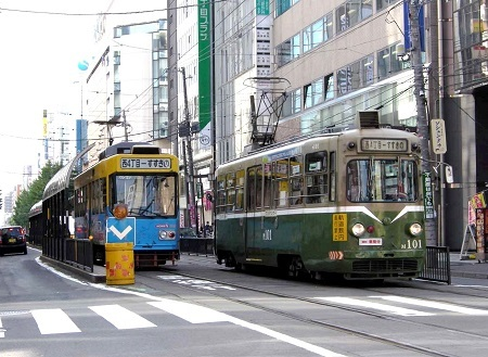 札幌市電M101号-0152949