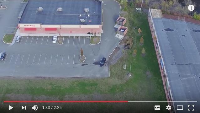 ドローンを使って妻の浮気現場をおさえ、YouTubeに一部始終をアップロード