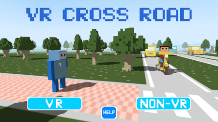 VR CROSS ROAD スクショ1