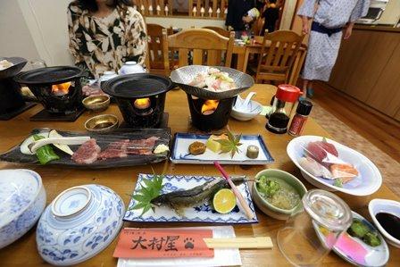 大村屋夕食1