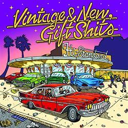 『Hi-STANDARD』 新作『Vintage & New, Gift Shits』のジャケット公開 ザ・ビーチ・ボーイズなどのカヴァーシングル