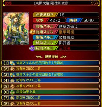 徳川家康SSR18-8凸