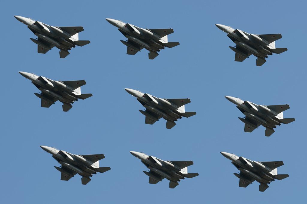 F-15 大編隊