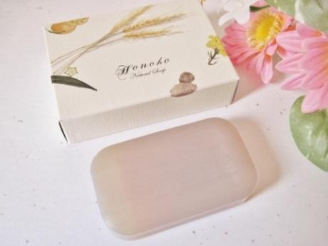 潤い120%でモチモチ、輝く美白肌、透明感に!植物プラセンタ【ほのほ石鹸】無添加ナチュラルソープ!