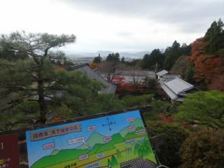 湖東三山百済寺の紅葉