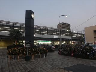 佐賀駅ライトアップ