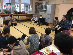 優しく温かいお話を頂きます田辺先生と中村先生