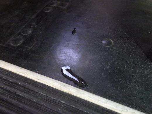 洗車して漏れ (1)