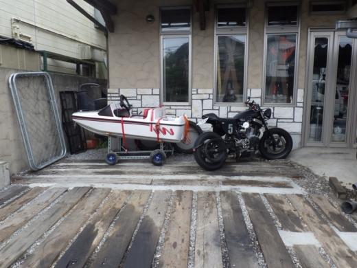 バイクを積む (7)