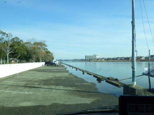 土浦港でワカサギ釣り (5)