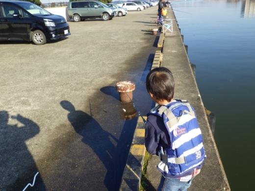 土浦港でワカサギ釣り (23)