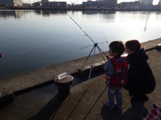 土浦港でワカサギ釣り (30)