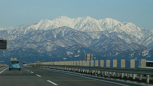 170119立山連峰