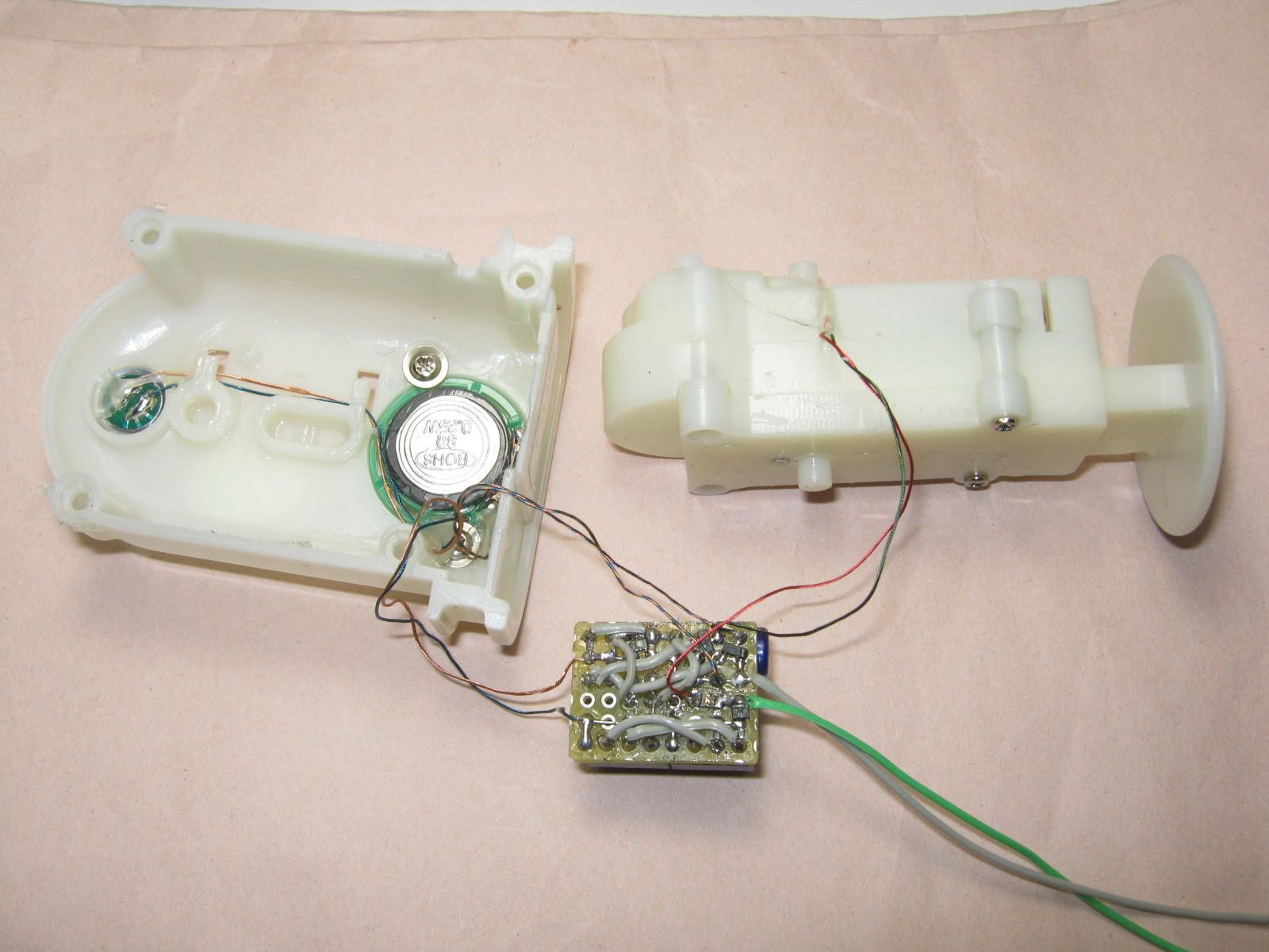 ミミクリーペット3(ボイスレコーダー・チェンジャー換装)基板製作2
