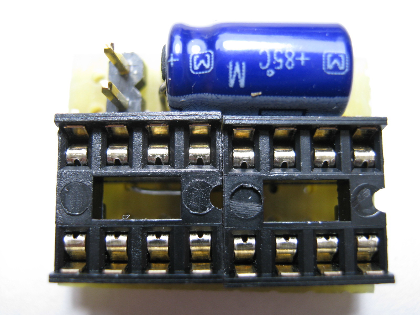 ミミクリーペット4(ボイスレコーダー・チェンジャー換装)基板1表