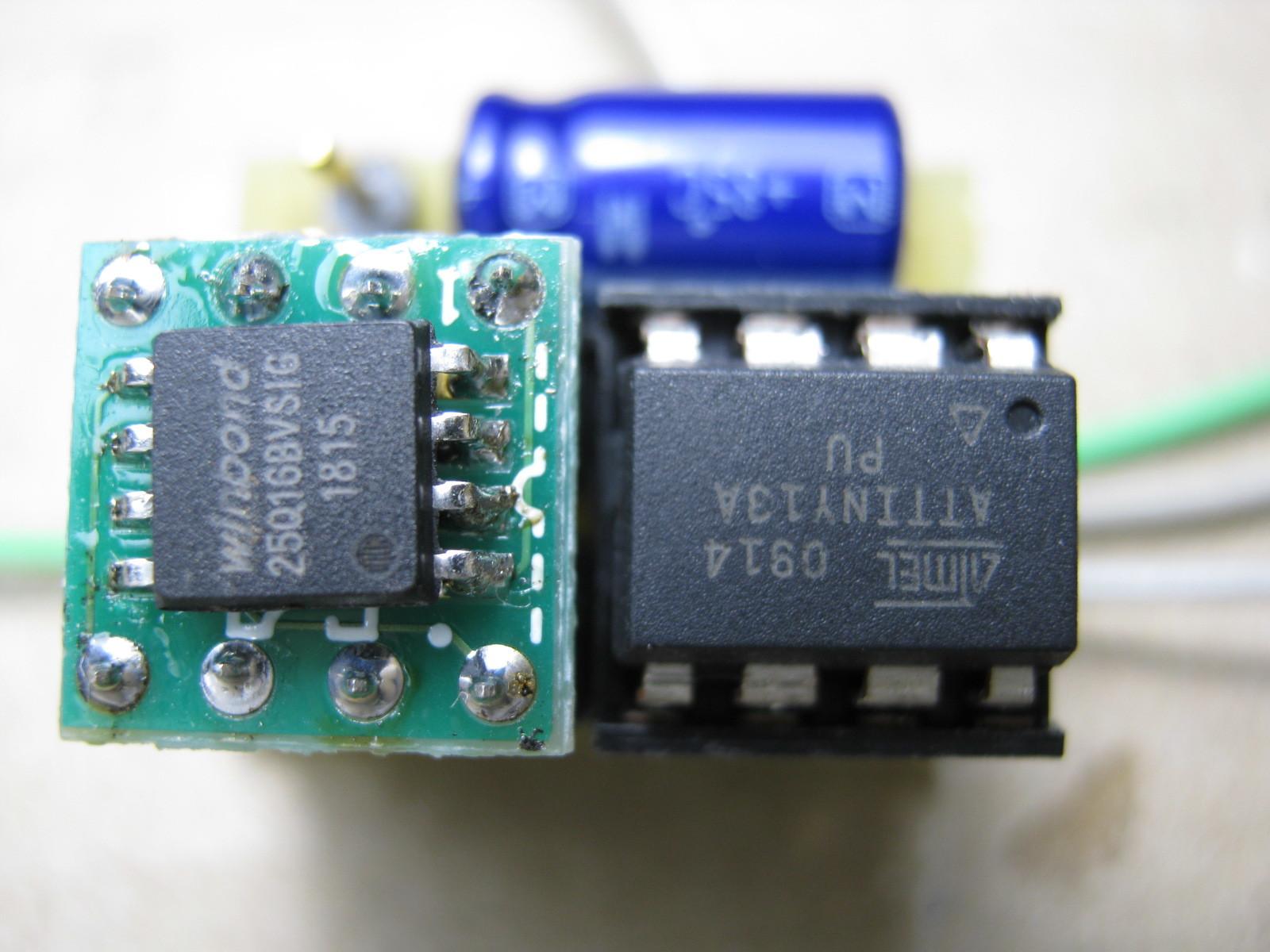 ミミクリーペット4(ボイスレコーダー・チェンジャー換装)基板2
