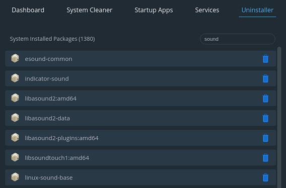 Stacer Ubuntu システム最適化 アプリの削除