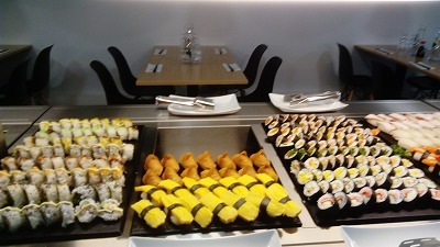 寿司ビュッフェ