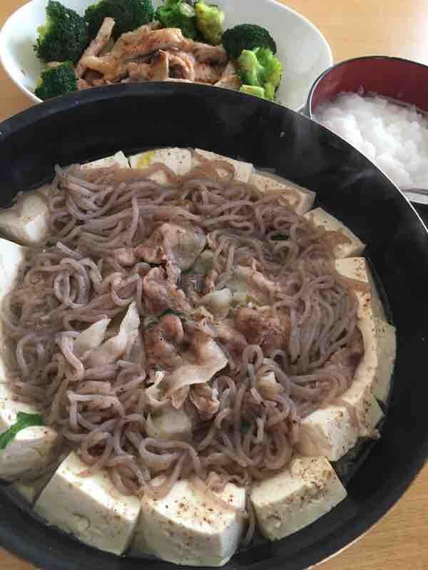 韓国風なべ