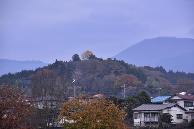 松山城遠景