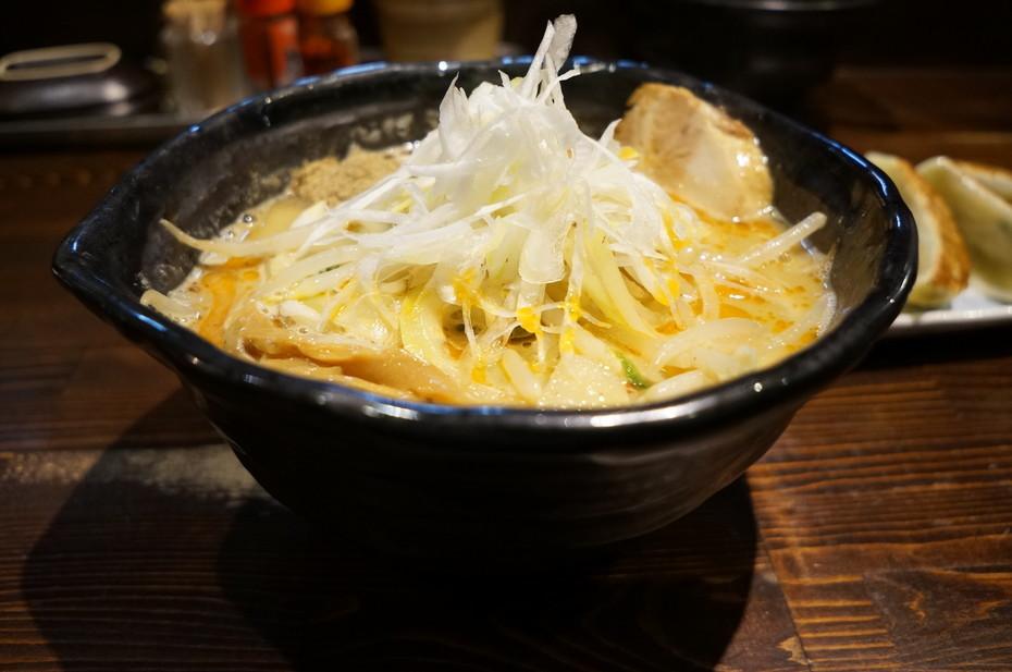 麺や蒼 AOI@つくば市 ラーメン+武蒼ギョーザ