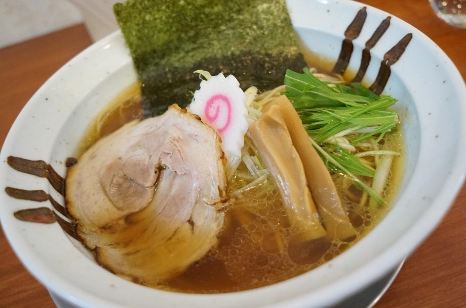 中華そば かずしの@下野市石橋 清湯醤油ら~麺