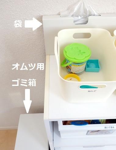 子供部屋・ゴミ箱&袋①