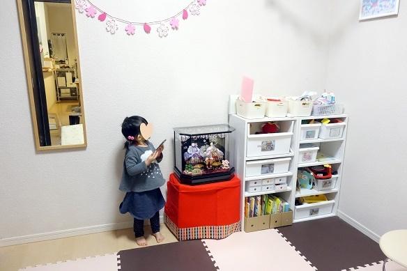 子供部屋・ひな人形②