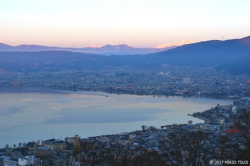 絶景探しの旅 - 0095 諏訪湖と北アルプス (長野県 諏訪市)