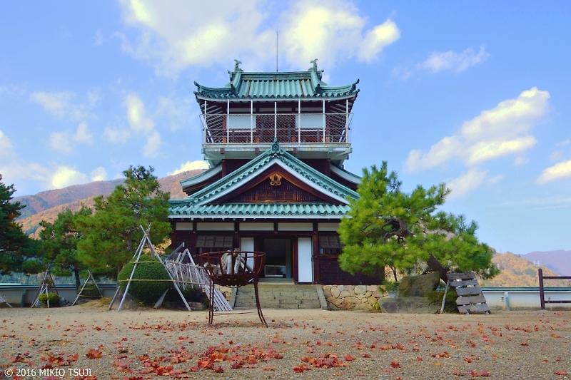 0042 秋の奥飛騨 「神岡城」 (岐阜県 飛騨市)